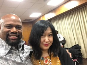 Me and Tomoko Ohno our wonder pianist